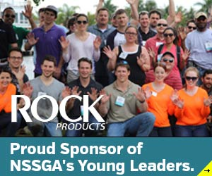 Rock Products - Proud Sponsors of NSSGA Young Leaders