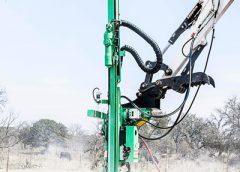 ConExpoConAgg, Montabert Micro CPA drilling attachment