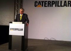 Caterpillar CEO Douglas Oberhelman at ConExpo-Con/Agg 2014