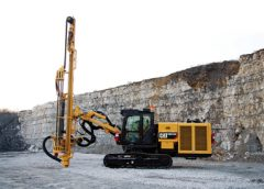 Caterpillar offers the new MD5150C Track Drill,