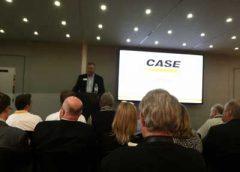 CASE's Jim Hasler spoke at a special ConExpo-ConAgg