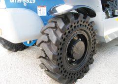 McLaren's Nu-Air semi-pneumatic tire series
