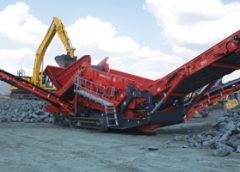 Terex Finlay introduced two new machines for quarry duty at this year's Hillhead show: the 883+ and the 893.