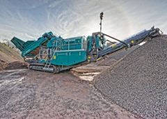 The new Powerscreen 1150 Maxtrak tracked cone crusher is designed to build on the success of the Powerscreen 1000 Maxtrak and 1300 Maxtrak cones.