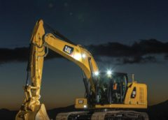 Cat 323 HEX stagnant at night
