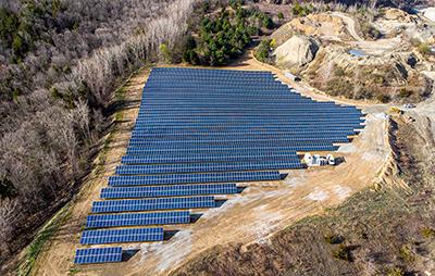 OG Solar Array at Southbury Quarry 5