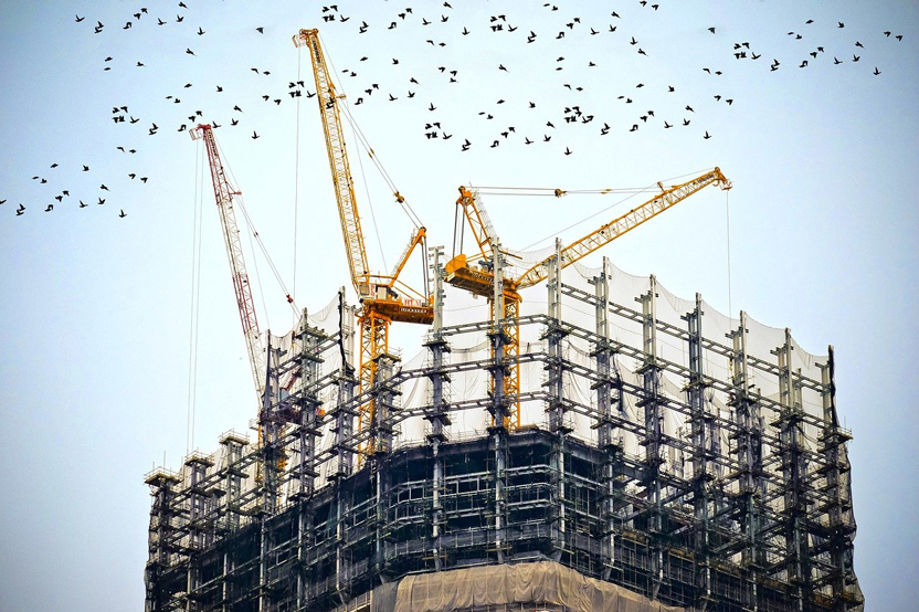 Total Construction Starts Decline in August