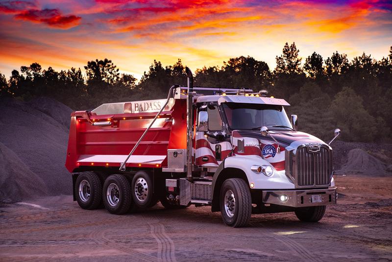 Autocar Debuts One BADASS Dump Truck