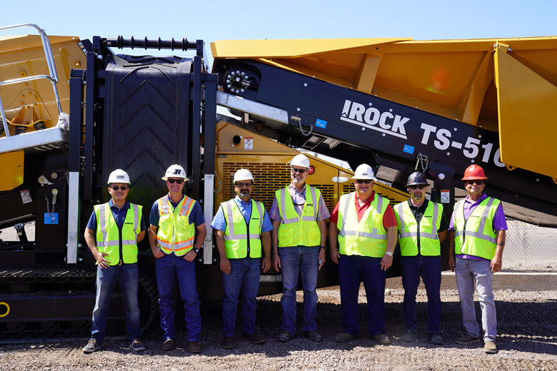 IROCK Crushers Adds Arizona-based Dealer
