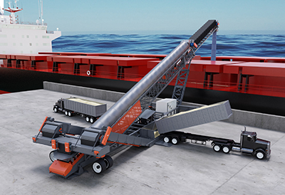Superior Reveals New All-In-One Mobile Ship Loading Conveyor