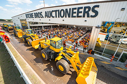 Ritchie Bros. Marketplace-E Sells $500 Million of Equipment