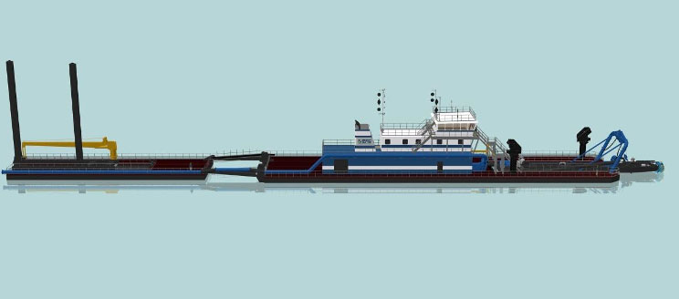 DSC to Construct Massive Dredge for Muddy Waters